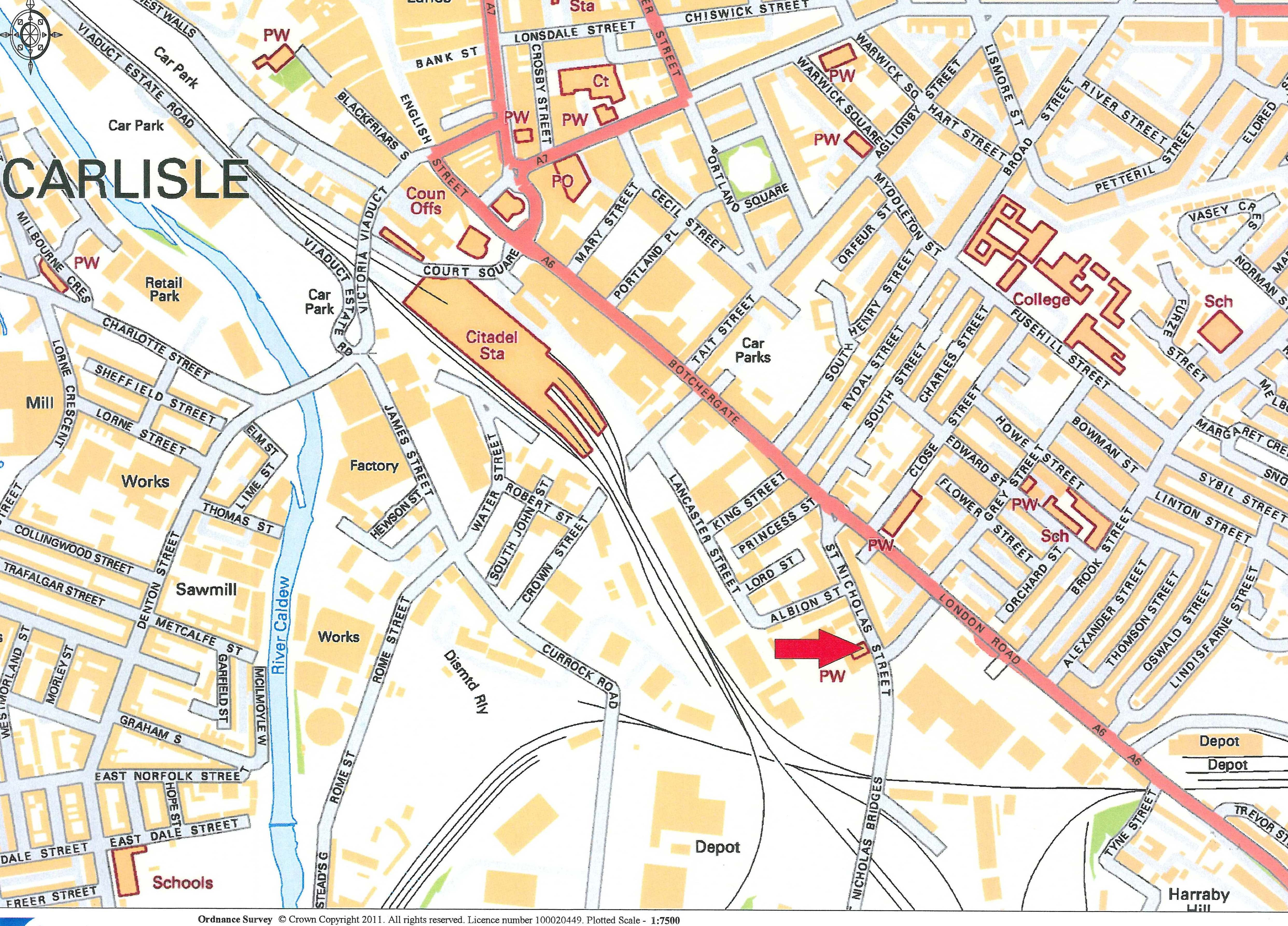 Salvation Army Premises St Nicholas Street Carlisle CA1 2EF